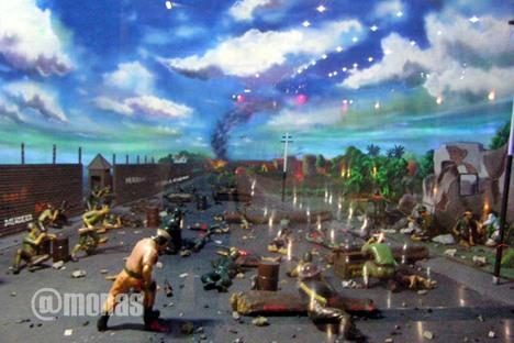 Diorama perjuangan kemerdekaan Museum Sejarah di Monas