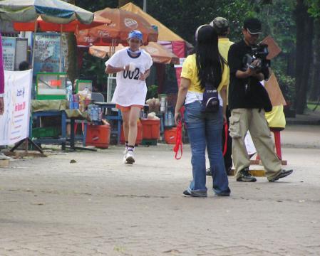runner, marathon ragunan, sport day