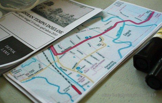 peta depok, sejarah kota depok