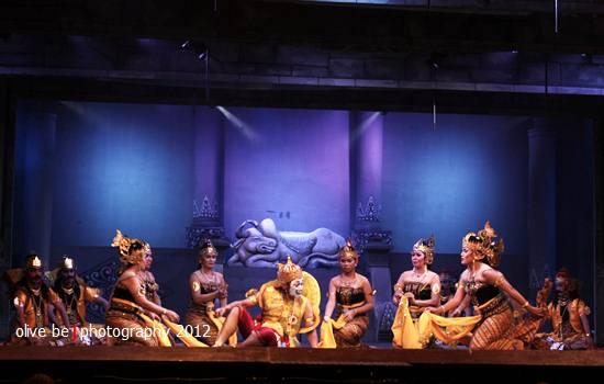 wayang orang bharata, persiapan pentas wayang orang, wayang orang di senen, wayang orang di jakarta