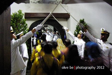 Disambutan Pedang Pora di Museum Bahari, Jakarta Barat (dok. koeksi pribadi)