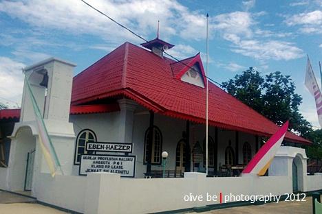 Gereja Protestan Maluku Eben-Haezer, Sila salah satu gereja tua di Maluku
