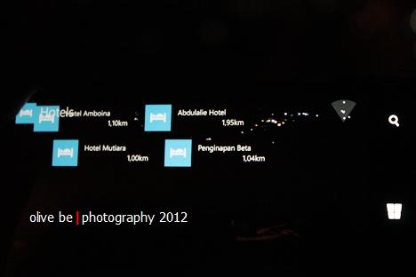 Mencoba fitur Nokia City Lens di Cafe Panorama, Ambon sehari sebelum 450D kolaps