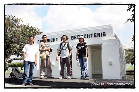 Bareng Mas Dipo, Yoan, Wibi di Ereveld Pandu, Bandung