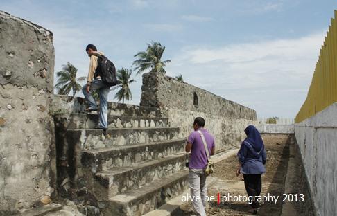 Pintu masuk Benteng Sultan Iskandar Muda, Aceh Besar