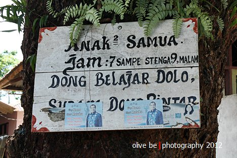 pesan belajar, destinasi wisata maluku, pulau haruku, wajib belajar