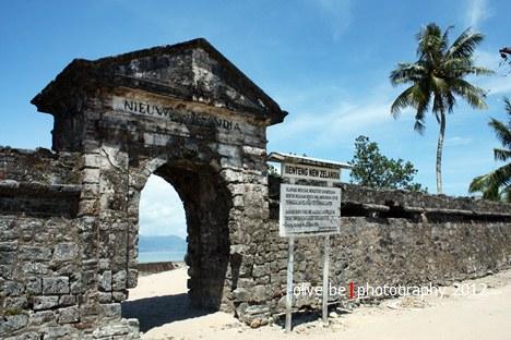 Benteng Nieuw Zelandia, destinasi wisata sejarah maluku, haruku, benteng maluku