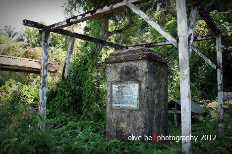 destinasi wisata maluku, wisata sejarah maluku, haruku, kuburan maluku