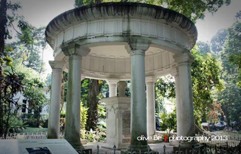 Monumen cinta Stamford Raffles untuk Olivia di Buitenzorg