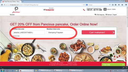 delivery pancious