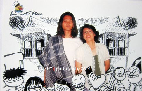 lat's place, kampung boy