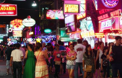 walking street pattaya