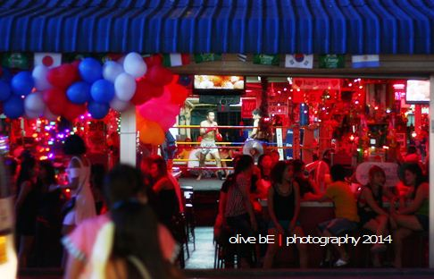 muay thai, dunia malam pattaya