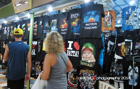 souvenir pattaya night bazaar