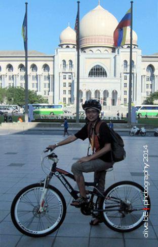 sepeda santai di putrajaya
