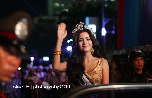miss thailand, thailand's street festival