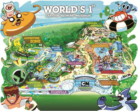 cartoon network amazone's water park
