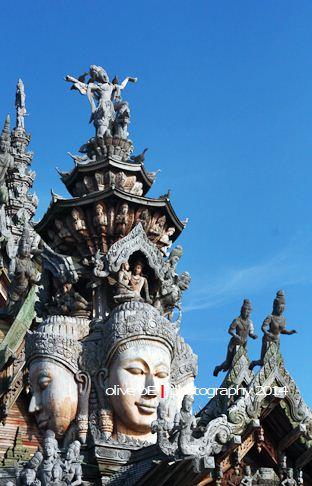 sanctuary of truth, Bodhisatwa
