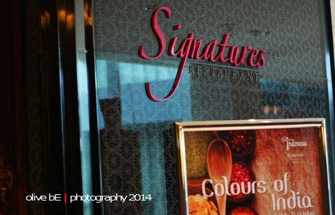 Colour of India at Signatures Restaurant