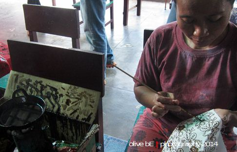 batik simpor, batik belitung timur