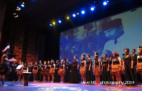 maranatha university choir, the indonesia choir