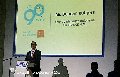 Duncan Rutgers, Country Manager of Air France-KLM Indonesia