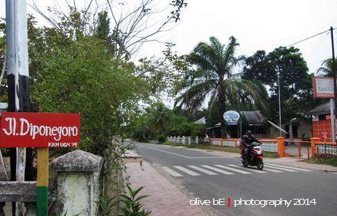 jalan gantung, homestay belitung
