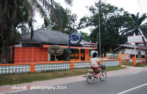 kantor pos gantung, homestay belitung