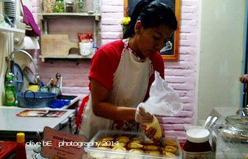 sepotong kue, home made ice cream, pasar santa