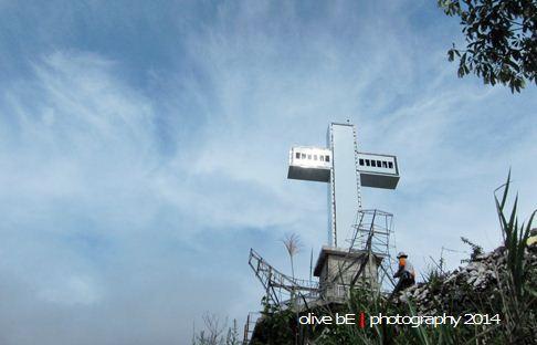 salib raksasa toraja, bukit singki', destinasi wisata toraja