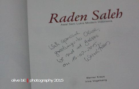 Wener Kraus, buku Raden Saleh