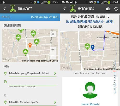 Gojek, Mobile Apps Gojek, Gojek Indonesia, Ojek