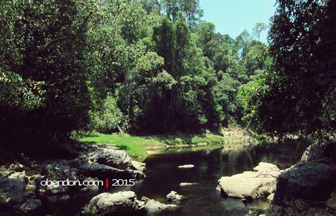 sungai petang, kelah sanctuary, tasik kenyir