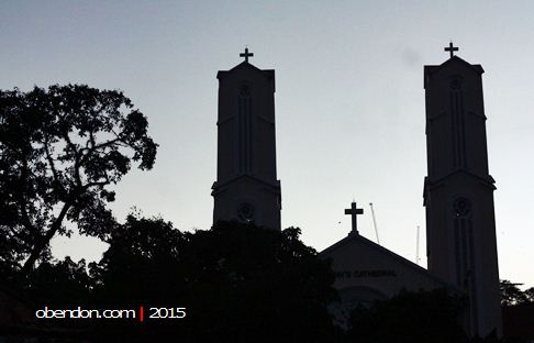 st john's cathedral, gereja di kuala lumpur