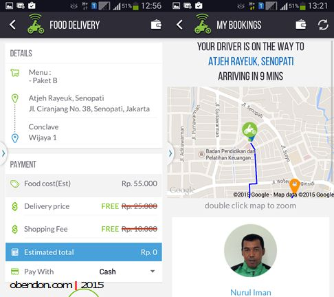 gofood, gojek, gojek indonesia, delivery food jakarta
