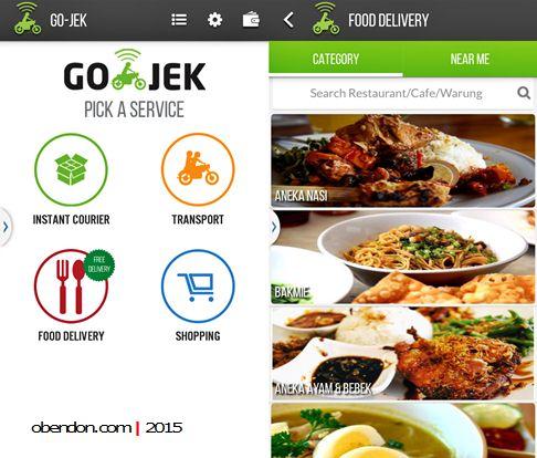 gofood, gojek, gojek indonesia, delivery makanan jakarta