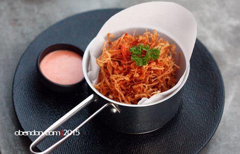 fried enoki mushroom, menu bart