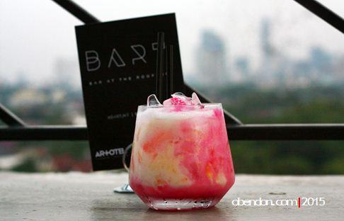 honeydew creamy, bart, roof top bar artotel