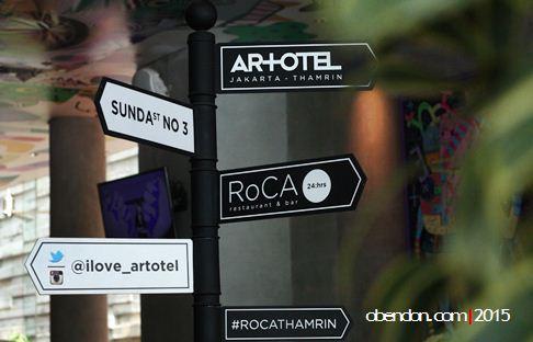 roca artotel, artotel indonesia, artotel thamrin