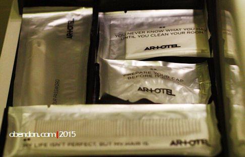 amenities artotel, artotel indonesia