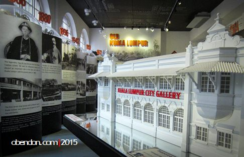 KL city gallery, sejarah malaysia
