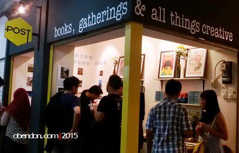 POST pasar santa, the dusty sneakers, buku pasar santa