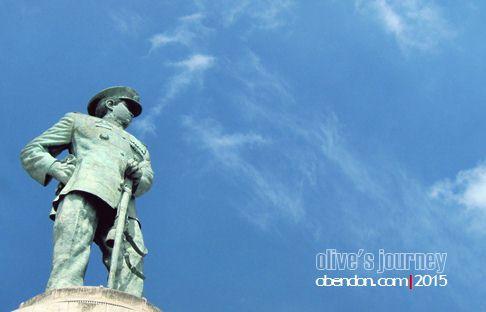 jalesveva jayamahe, monumen jalesveva jayamahe, monjaya