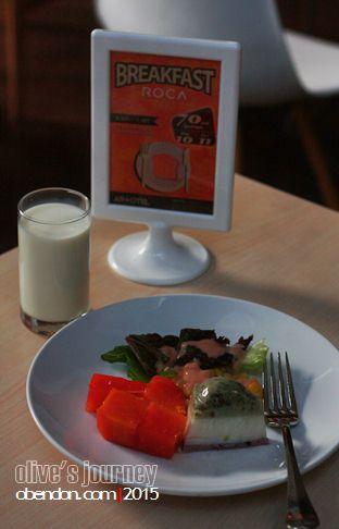 roca artotel surabaya, menu artotel