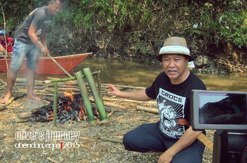 sungai batang kayan, kampung melayu tebekang, kuliner serawak