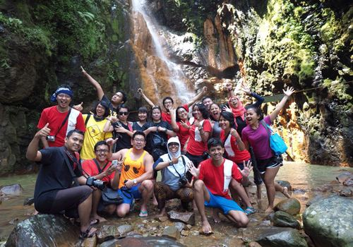 curug cigamea, travel bloggers indonesia, tbi gathering
