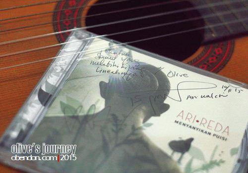 album arireda, arireda, msikalisasi puisi
