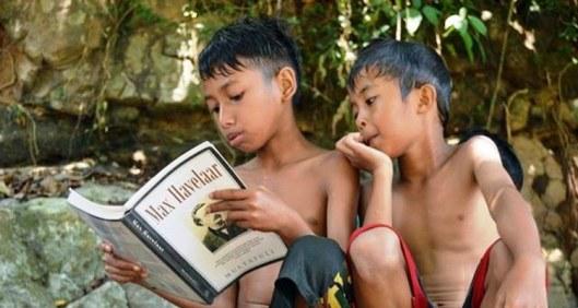Reading Max Havelaar, Anak-anak Ciseel, Anak-anak Multatuli, Taman Baca Multatuli