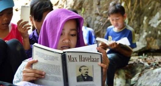 Reading Max Havelaar, Taman Baca Multatuli, Anak-anak Multatuli dari Ciseel, Ubaidilah Muchtar