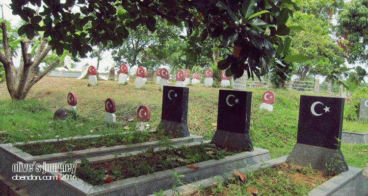 Turkish  Graveyard, Kuburan Turki di Aceh, Jejak Turki di Aceh, Gampong Bitay